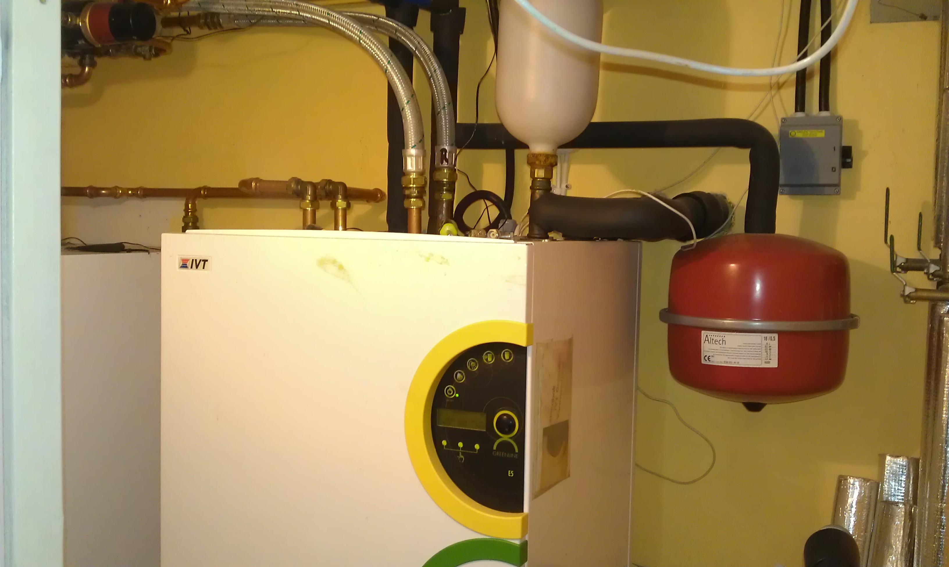 utbyte av befintlig värmepump - energipartner ab